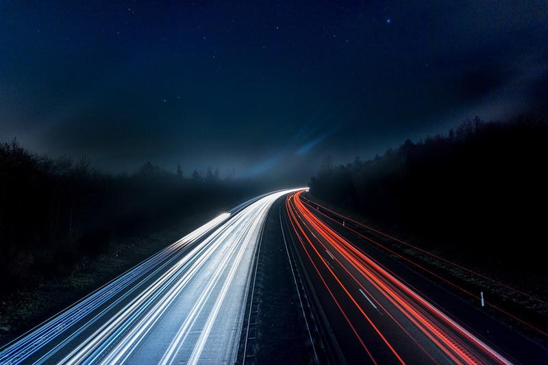 Kết hợp phơi sáng và blur