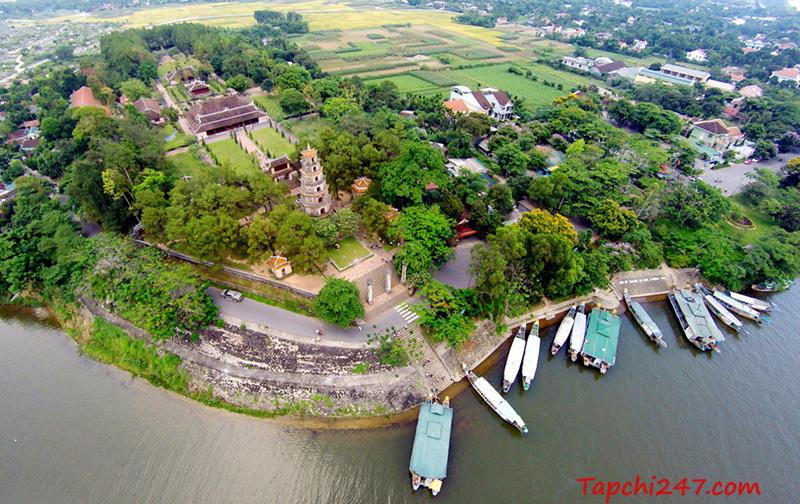 Kiến trúc chùa Thiên Mụ