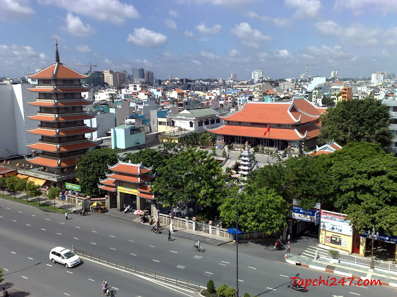 Chùa Vĩnh  Nghiêm Hồ Chí Minh