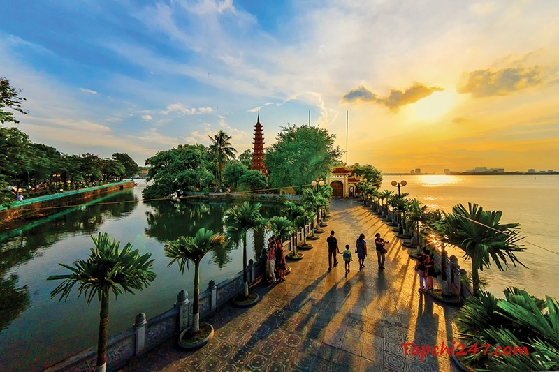 Kiến trúc chùa Trấn Quốc