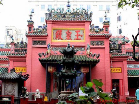 Kiến trúc chùa Ngọc Hoàng
