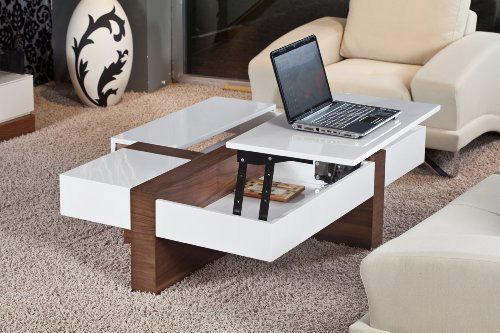 Tiện dụng với chiếc bàn sofa thông minh