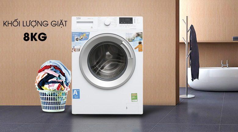 Cần chú ý đến lượng đồ giặt phù hợp với định mức quy định