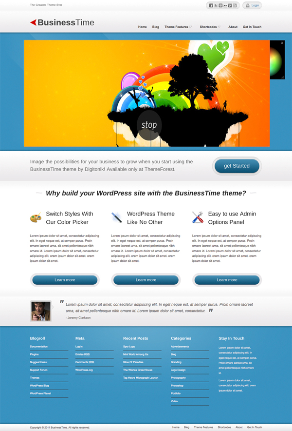 best-wordpress-themes-business-time