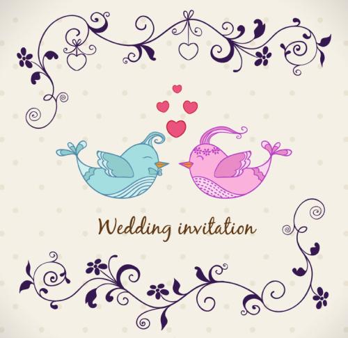 wedding_vector_chim