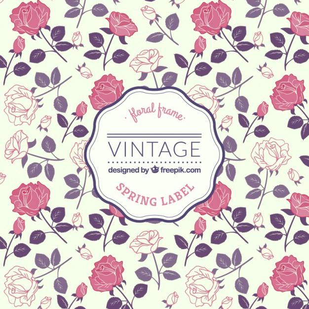 hoa_hong_vector_vintage