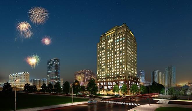 Dự án Golden King tiện nghi, sang trọng đang là điểm sáng thu hút giới đầu tư và khách hàng.
