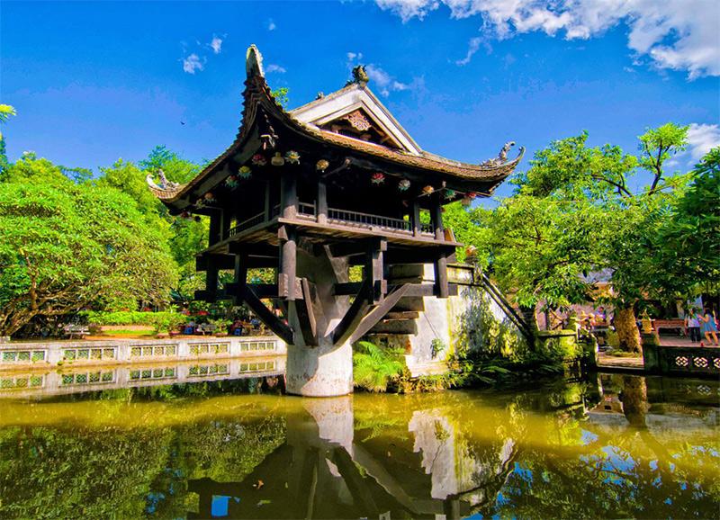 Kiến trúc chùa Một Cột